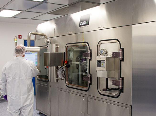 Aseptic manufacturing at Singota